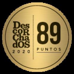 Descorchados 2020  89 Puntos